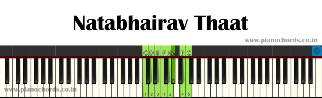 Natabhairav Thaat With Fingering