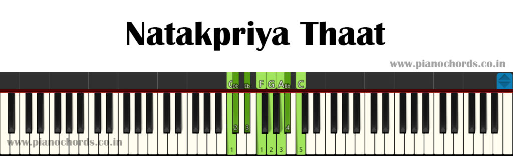 Natakpriya Thaat With Fingering